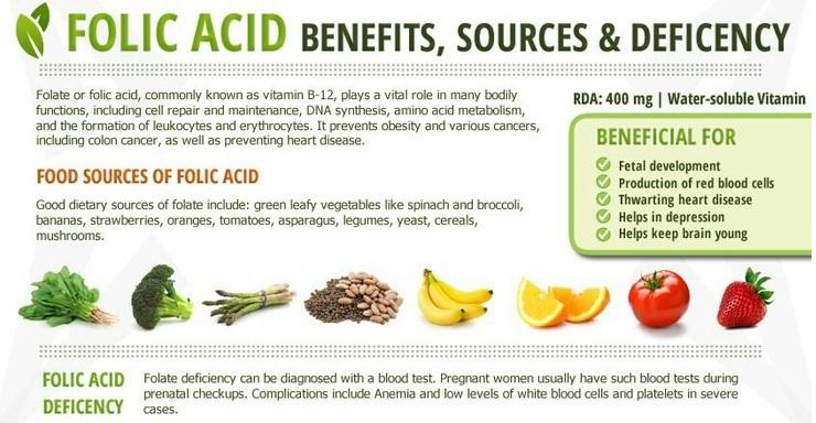 What is in folic acid