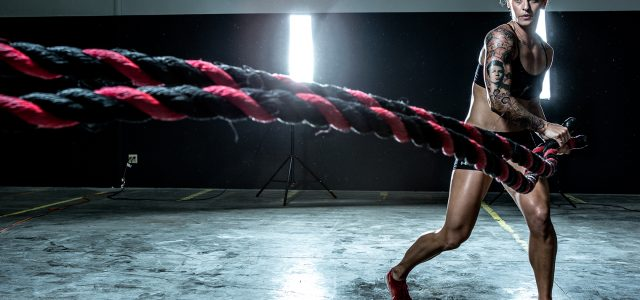Ladies, Battle Ropes Aren't Just For Meatheads