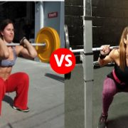 Face Off: Rear Squat vs Front Squat