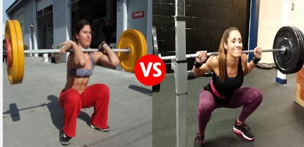 Face Off: Rear Squat vs Front Squat
