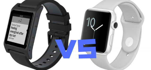 Head to Head: Pebble 2 Versus the Apple Series 2