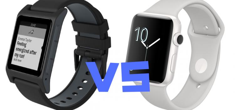 Head to Head: Pebble 2 Versus the Apple Series 2