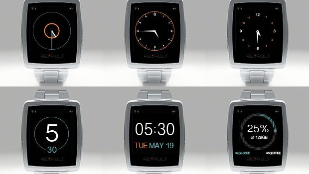 ReVault Smartwatch Wants to be Your On-the-go Data Bank