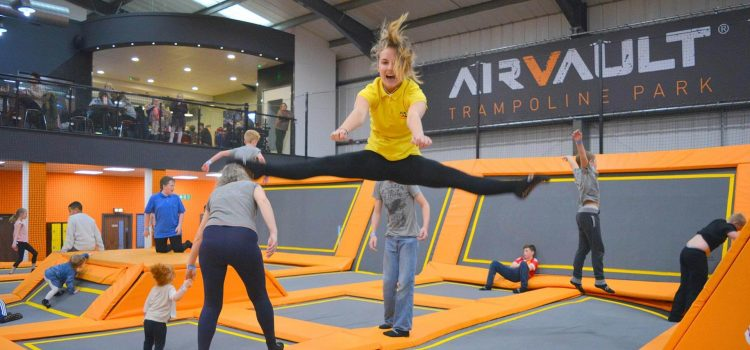 Rebound Fitness Is Bouncing Into Trampoline Parks Around The Globe