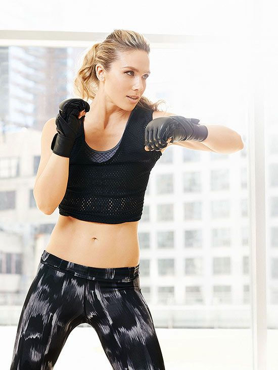 Take This Kickboxing Routine With You Wherever You Are
