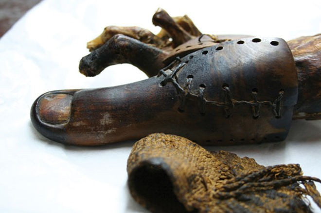 Egyptian prosthetic | livescience.com