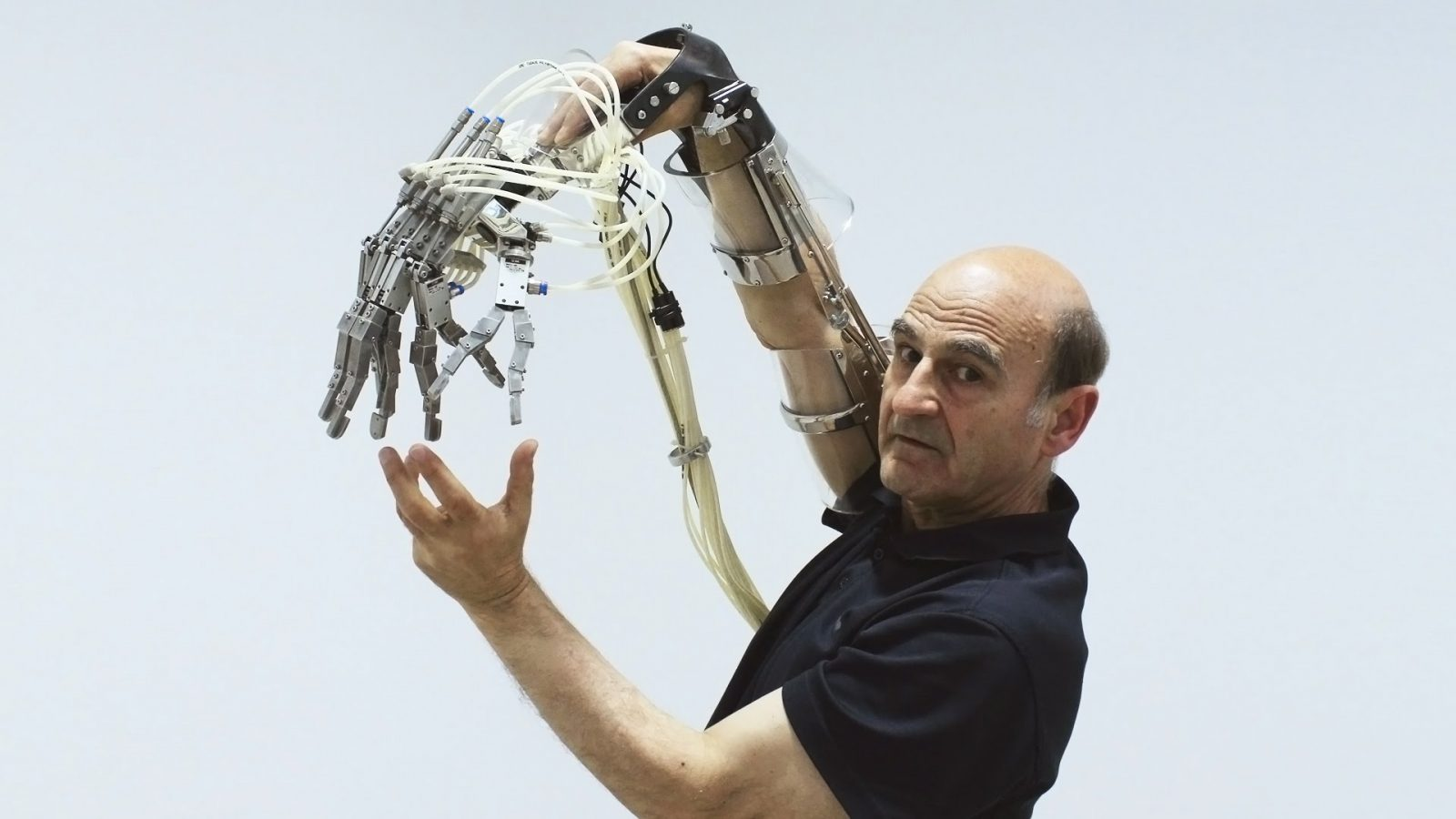 Professor Stelarc; The Man Who Added A 3rd Ear To His Forearm For You