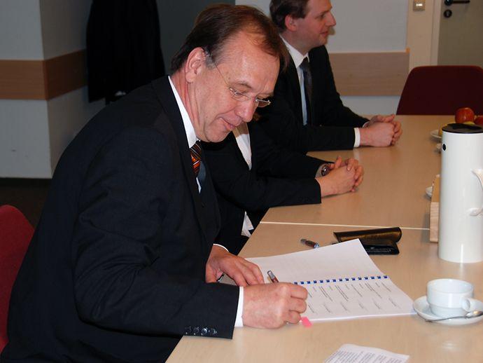 Helmut Tschiersky-Schoenebur, Head of the BVL | hamburg.de