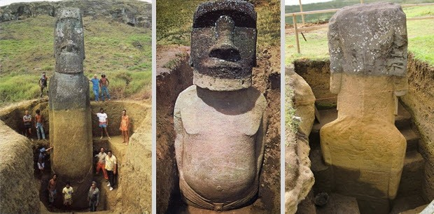 Famous Easter Island Statues | skyshipsovercashiers.com