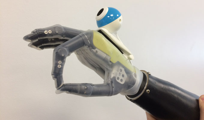 A Hand With Eyes Beats Other Prosthetics With Flying Colors